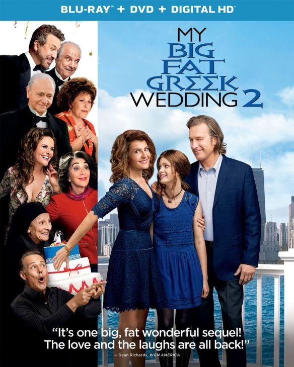 My Big Fat Greek Wedding 2 [Includes Digital Copy] [Blu-ray/DVD] [2016] 5090100