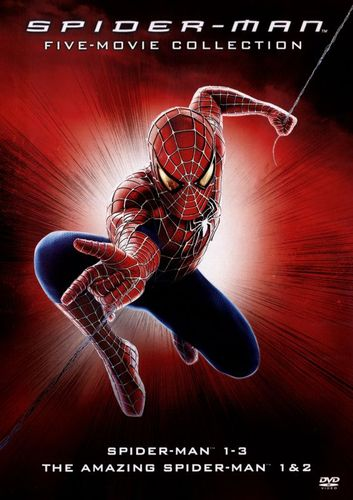 The Amazing Spider-Man/The Amazing Spider-Man 2/Spider-Man 1-3 [5 Discs] [DVD] 5091100