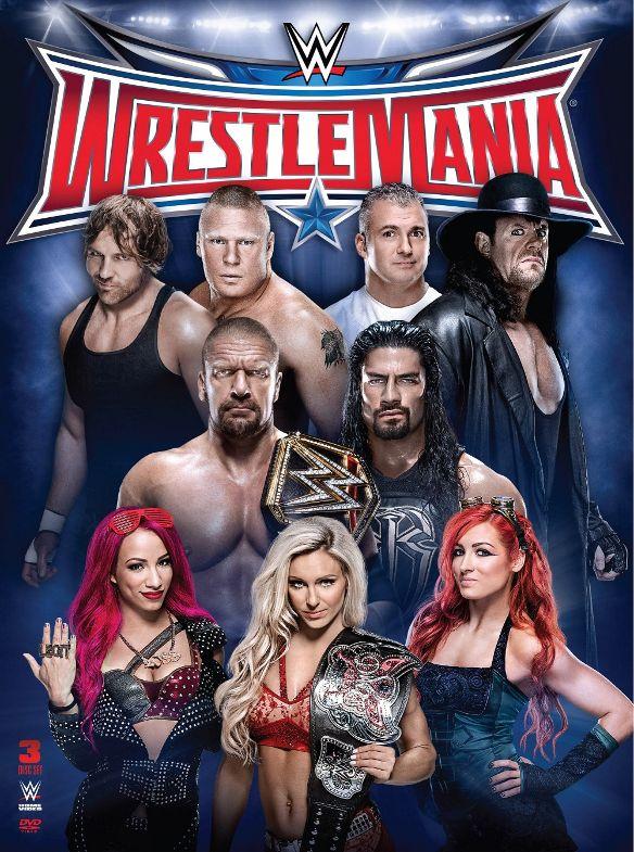 WWE: Wrestlemania XXXII [3 Discs] [DVD] [2016] 5091170