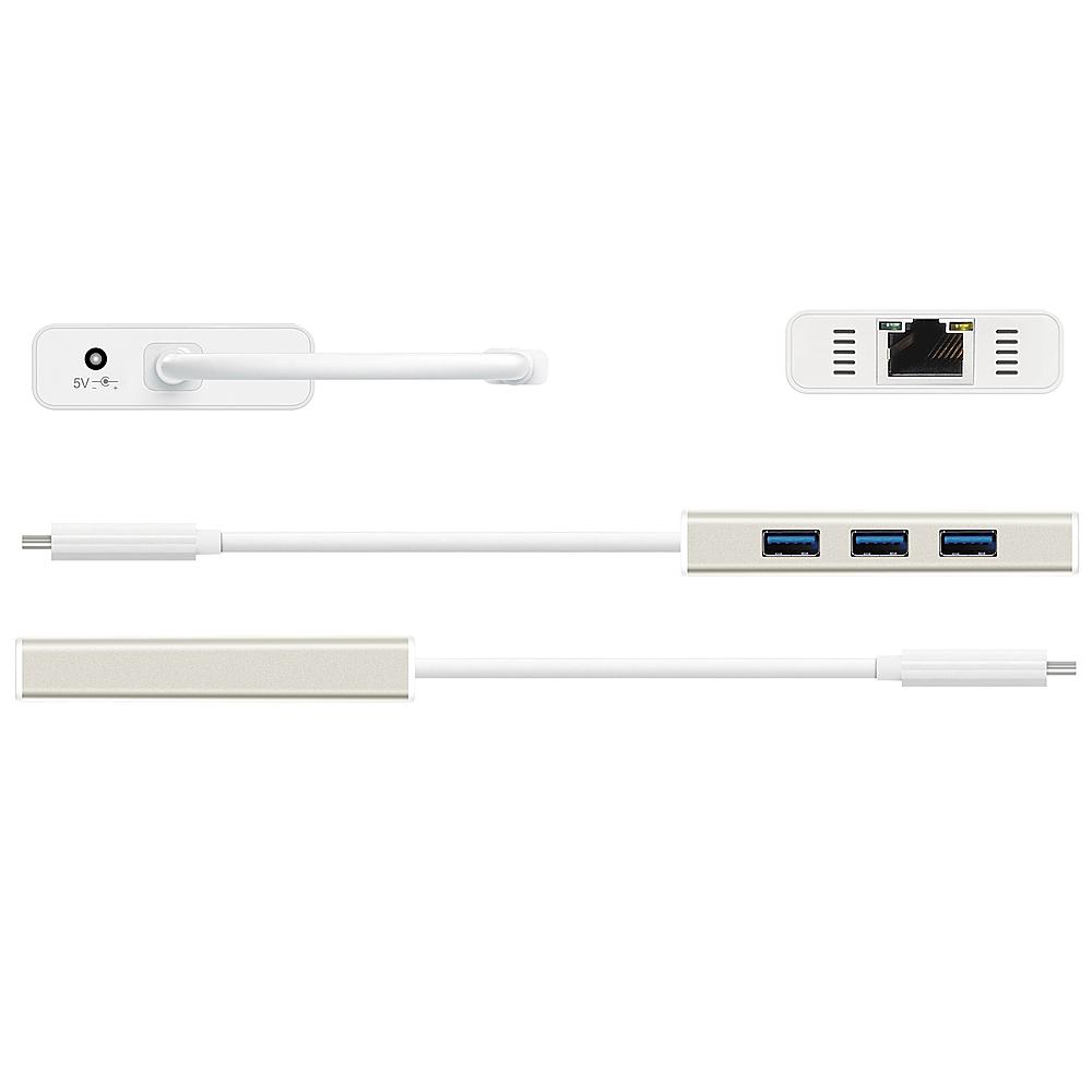 j5 create JCH471 Gigabit Ethernet USB Type-C Multi Adapter with HUB