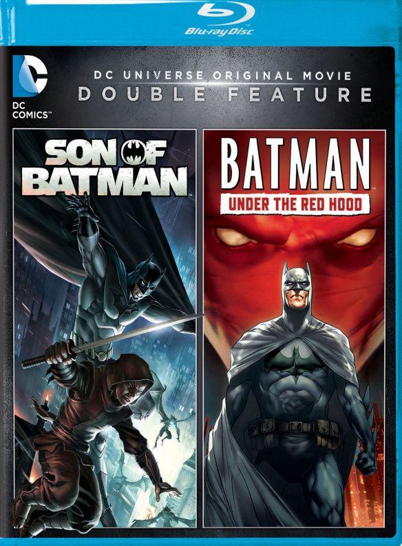 DC Universe Original Movie Double Feature: Son of Batman/Batman: Under the Red Hood [Blu-ray] 5092100