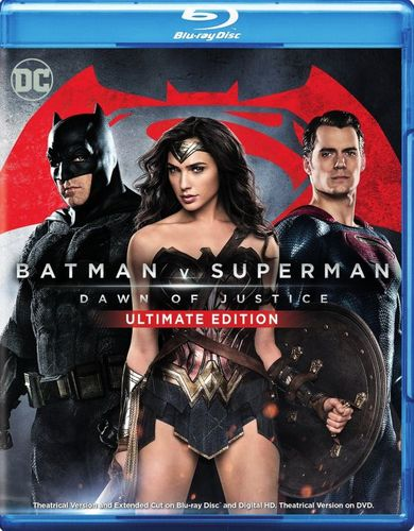 Batman v Superman: Dawn of Justice [Ultimate Edition] [Blu-ray] [2016] 5092502