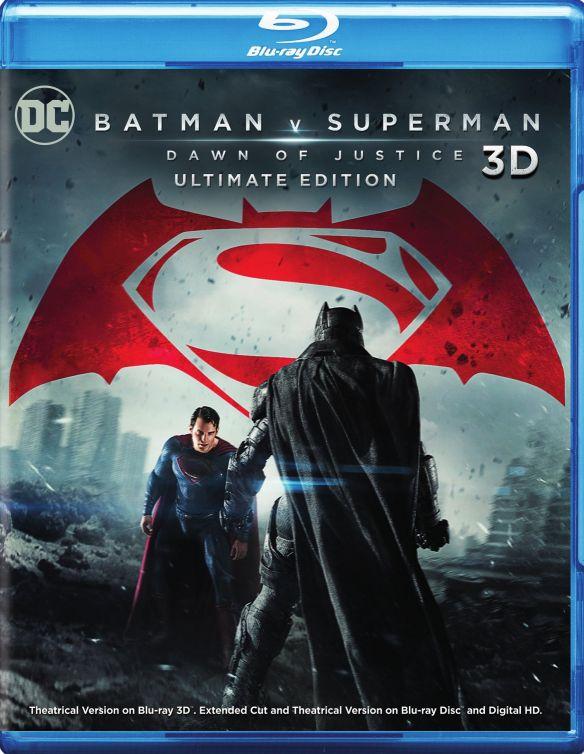 Batman v Superman: Dawn of Justice [Ultimate] [3D] [Blu-ray] [Blu-ray/Blu-ray 3D] [2016] 5092903