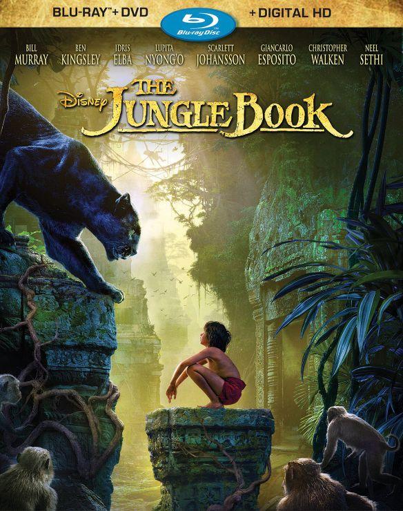 The Jungle Book [Includes Digital Copy] [Blu-ray/DVD] [2016] 5094600