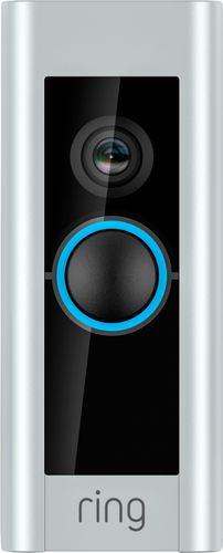 Ring - Video Doorbell Pro - Satin Nickel