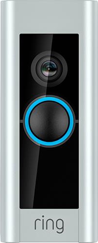 Ring - Video Doorbell Pro - Satin Nickel