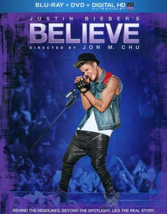 Justin Bieber's Believe [2 Discs] [Blu-ray/DVD] [2013] 5096998
