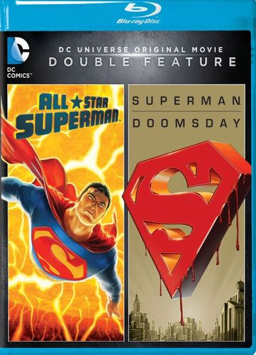 DC Universe Original Movie Double Feature: All Star Superman/Superman Doomsday [Blu-ray] 5097800