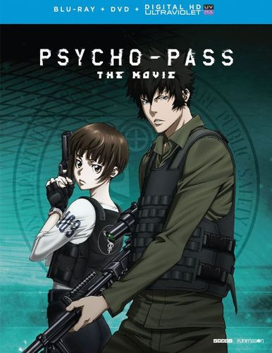 Psycho-Pass: The Movie [Includes Digital Copy] [UltraViolet] [Blu-ray/DVD] [2 Discs] [2015] 5100401