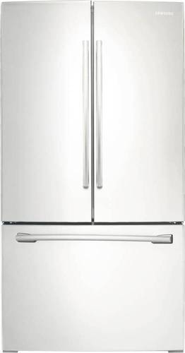 Samsung 25.5 cu. ft. French Door Refrigerator with Internal Water Dispenser in White