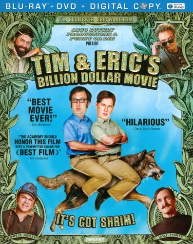 Tim & Eric's Billion Dollar Movie [2 Discs] [Blu-ray/DVD] [2012] 5100959