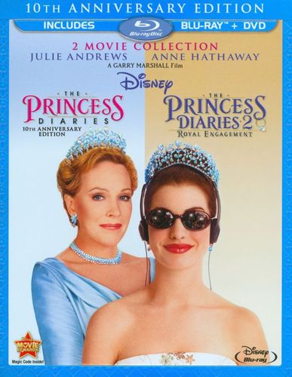 Princess Diaries/Princess Diaries 2: Royal Engagement [2 Discs] [Blu-ray/DVD] 5102839