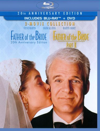 Father of the Bride: 2-Movie Collection [20th Anniversary Edition] [3 Discs] [Blu-ray/DVD] 5102884