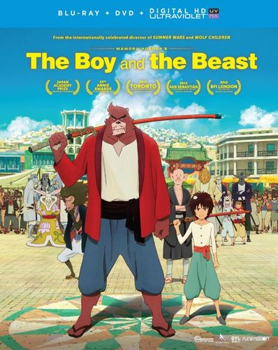 The Boy and the Beast [Includes Digital Copy] [UltraViolet] [Blu-ray/DVD] [2 Discs] [2015] 5107301
