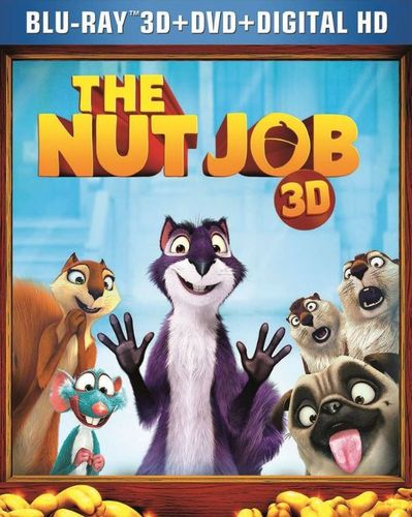 The Nut Job [2 Discs] [Includes Digital Copy] [UltraViolet] [3D] [Blu-ray/DVD] [Blu-ray/Blu-ray 3D/DVD] [2014] 5114259