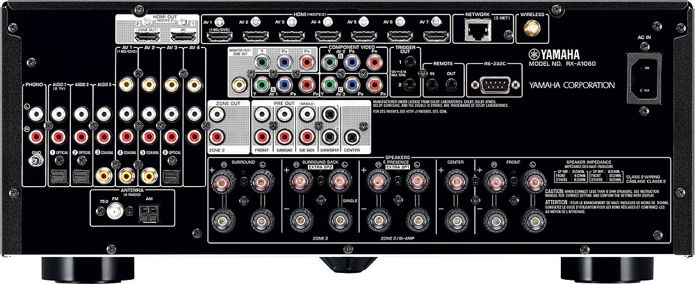 Yamaha--AVENTAGE-770W-7.2Ch.