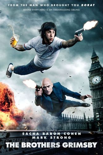 The Brothers Grimsby [DVD] [2016] 5122445