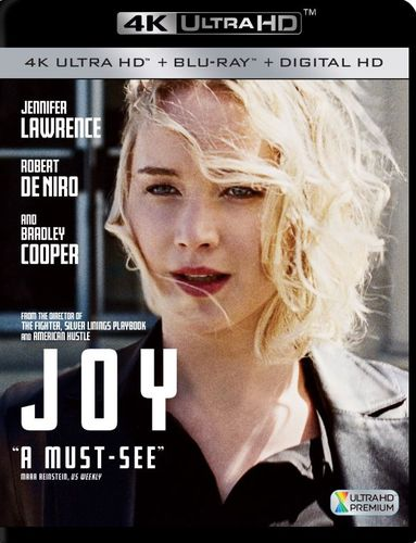 Joy [Includes Digital Copy] [4K Ultra HD Blu-ray/Blu-ray] [2015] 5123802