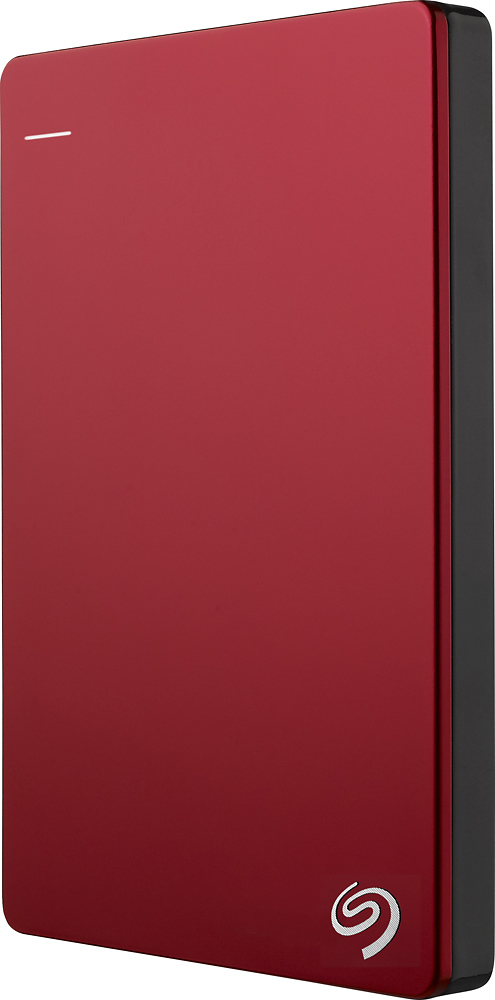 Seagate Backup Plus Slim 2tb Portable Hard Drive External Usb 3.0, Red + 2mo Adobe Cc Photography (Stdr2000103)