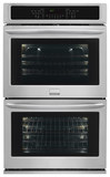 """Frigidaire Gallery 27"""" Built-in Double Electric Convection Wall Oven Stainless Steel FGET2765PF"""