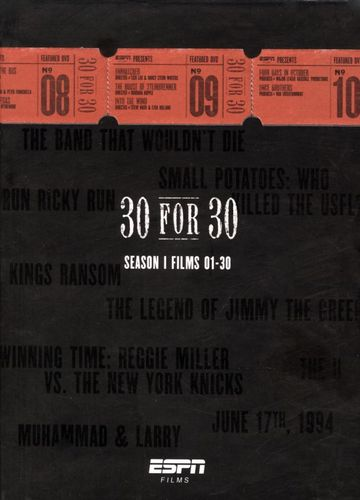 ESPN Films 30 for 30: Season 1 Films 01-30 [12 Discs] [DVD] 5142400