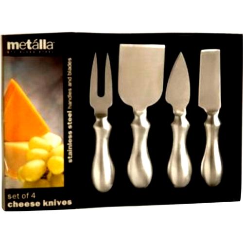 Prodyne 4pc Stainless Steel Cheese Serving Utensils