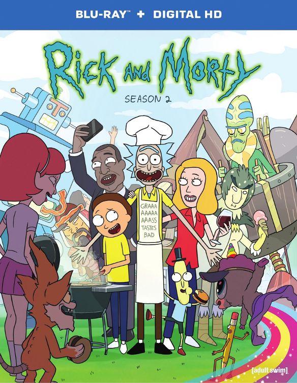 Rick and Morty: Season 2 [Blu-ray] 5154600