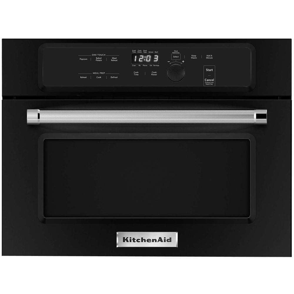 KitchenAid 1.4 Cu. Ft. Built-In Microwave Black KMBS104EBL