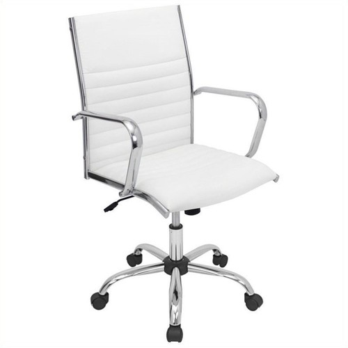 Lumisource Master Office Chair - White