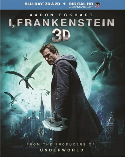 I, Frankenstein [2 Discs] [Includes Digital Copy] [UltraViolet] [3D] [Blu-ray] [Blu-ray/Blu-ray 3D] [2014] 5161142