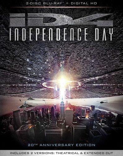 Independence Day [Includes Digital Copy] [Blu-ray] [20th Anniversary Edition] [1996] 5167300
