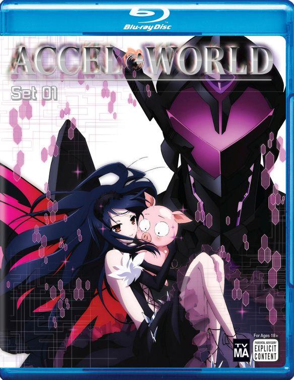 Accel World: Set 01 [2 Discs] [Blu-ray] 5167400
