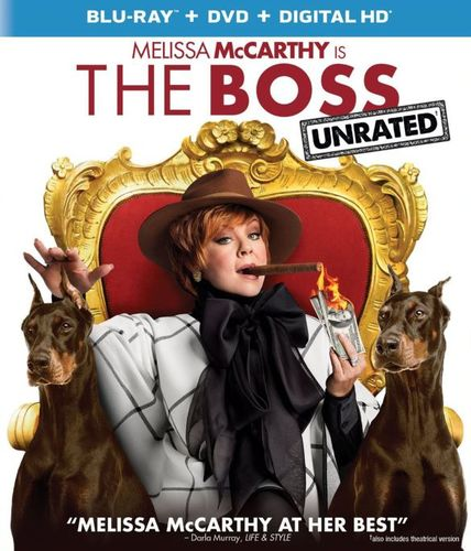 The Boss [Includes Digital Copy] [Blu-ray/DVD] [2016] 5175900