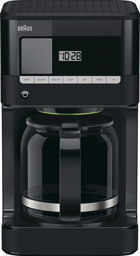 Braun - BrewSense 12-Cup Coffeemaker - Black 5188540