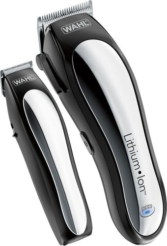 Wahl - Lithium Pro Complete Cordless Haircut Kit - Black/Silver 5191100