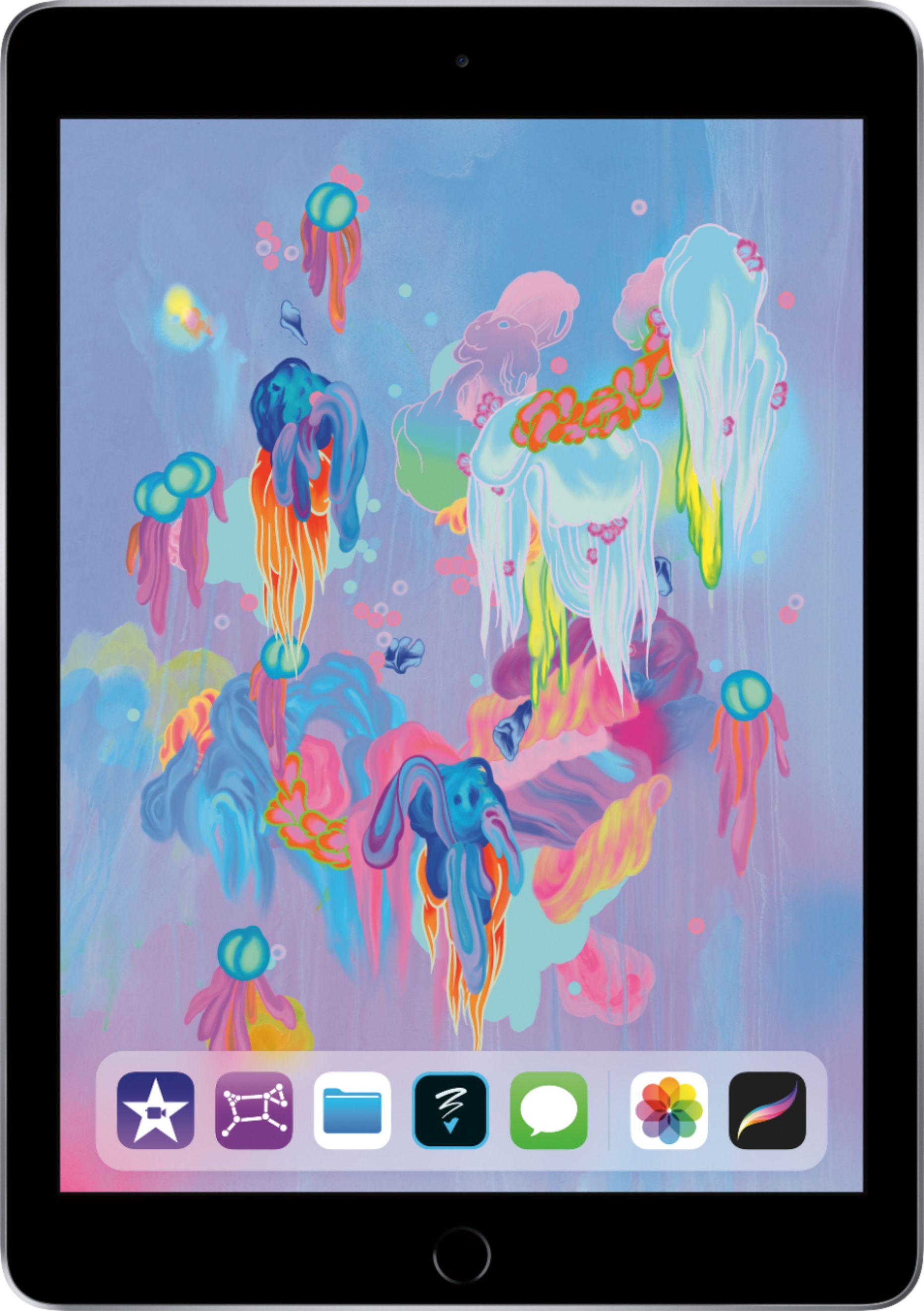 Apple - iPad (Latest Model) with Wi-Fi - 128GB - Space Gray