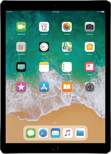 Apple - iPad Pro 12.9-inch (Latest Model) with Wi-Fi + Cellular - 64 GB - Space Gray 5201803