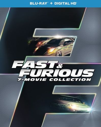 Fast and Furious 7-Movie Collection [Blu-ray] [8 Discs] 5208200