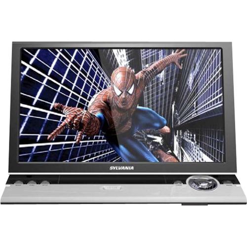 """Sylvania 11.6"""" Portable DVD Player Silver SDVD1256"""