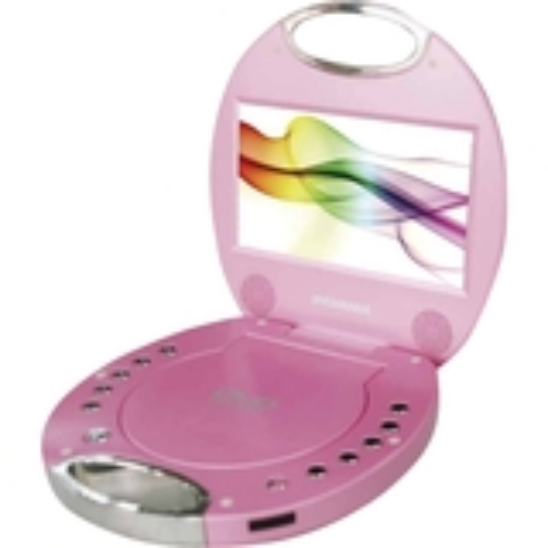 "Sylvania 7"" Portable DVD Player Pink SDVD7046-PINK"