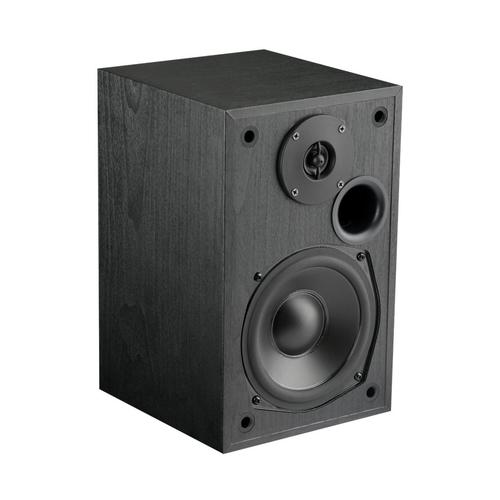 MTX - Monitor Series 5-1/4 inch 200W 2-way Bookshelf Speakers (Pair) - Black ash