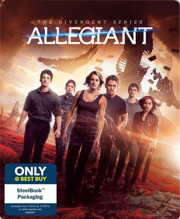 The Divergent Series: Allegiant [Includes Digital Copy] [Blu-ray] [SteelBook] [Only @ Best Buy] [2016] 5221600