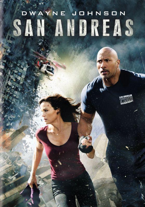 San Andreas [2 Discs] [DVD] [2015] 5228124