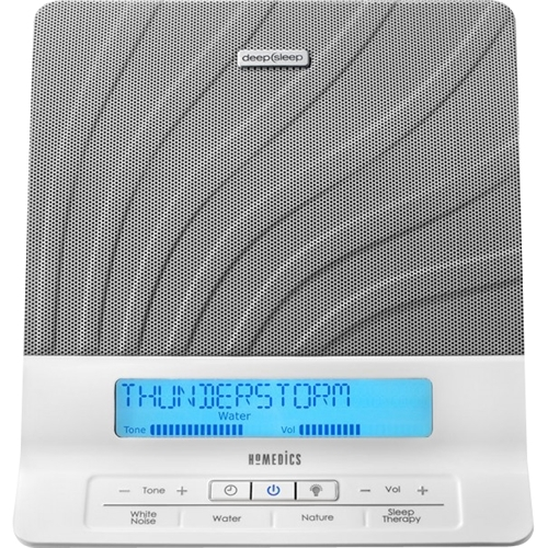 HoMedics - Deep Sleep Sleep Therapy Machine - White 5228307