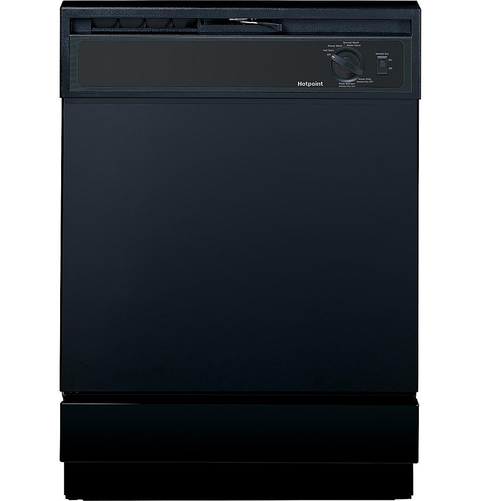 "GE 24"" Built-In Dishwasher Black HDA2100HBB"