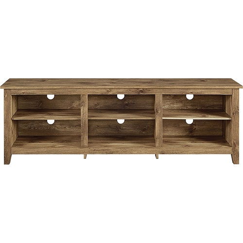 Walker Edison Wood Tv Stand For Flat Panel Tvs Up To 70