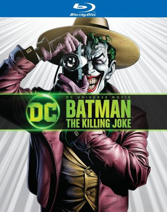 Batman: The Killing Joke [Includes Digital Copy] [UltraViolet] [Blu-ray/DVD] [2016] 5259600