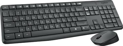 Logitech Wireless Keyboard and Optical Mouse 920-007897