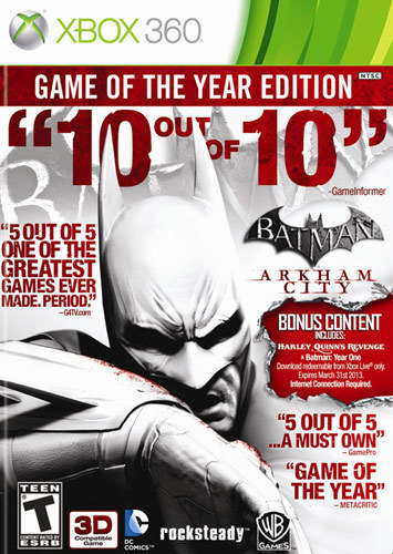 Batman: Arkham City - Game of the Year Edition - Xbox 360 5260686