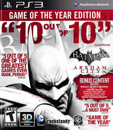 Batman: Arkham City - Game of the Year Edition - PlayStation 3 5260722